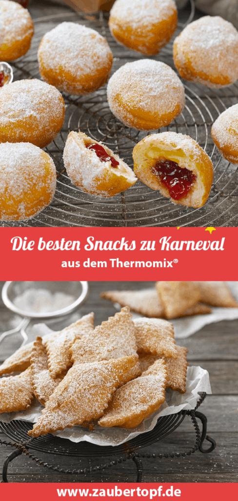 Die besten Snacks zu Karneval aus dem Thermomix® – Fotos: Tina Bumann