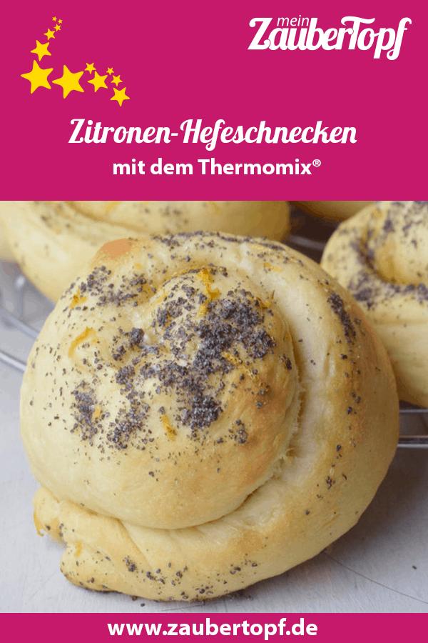 Zitronen-Hefeschnecken aus dem Thermomix® –Foto: Nicole Stroschein