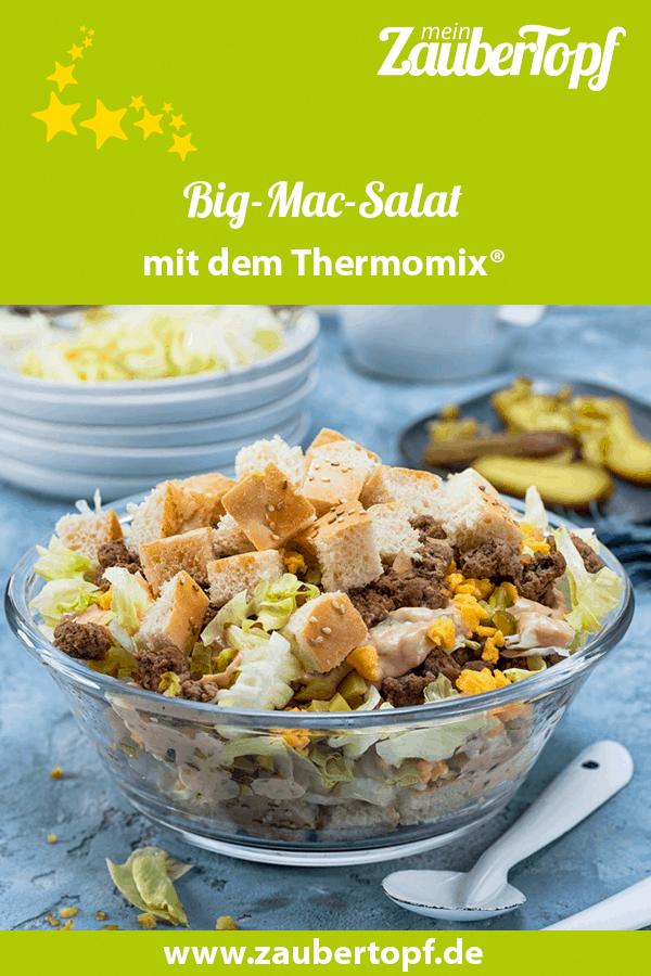 Bic-Mac-Salat mit gebratenem Hack aus dem Thermomix® –Foto: Frauke Antholz