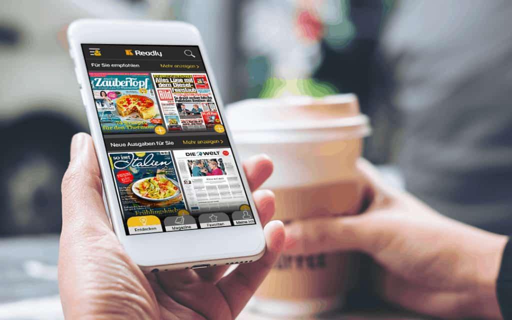 Readly auf dem Handy konsumieren - Das Netflix für Magazine