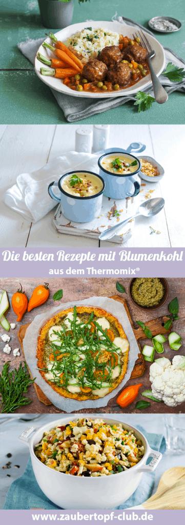 Die besten Rezepte mit Blumenkohl für den Thermomix® – Fotos: ira Leoni, Tina Bumann, Gettyimages, Anna Gieseler