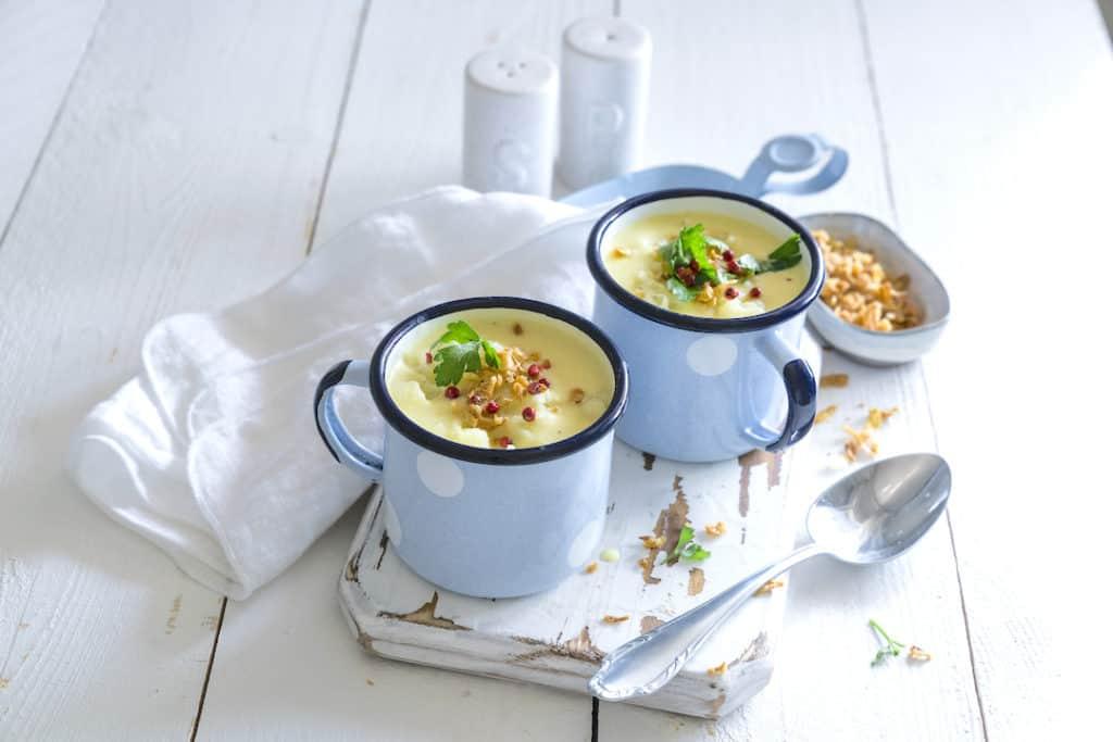 Blumenkohlsuppe aus dem Thermomix® – Foto: Tina Bumann
