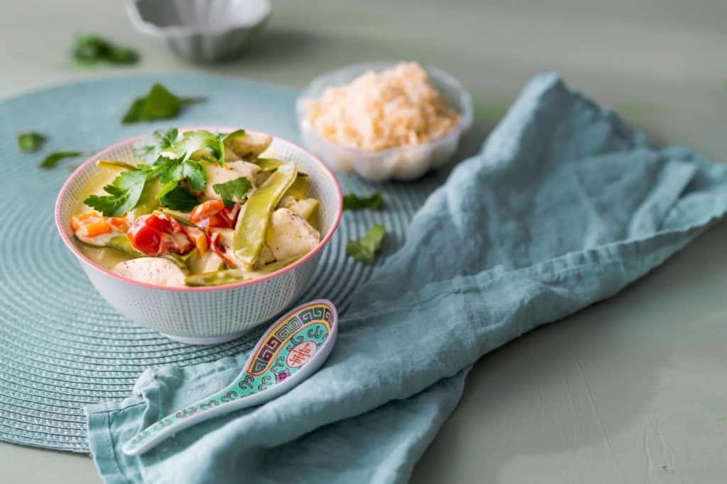 Kokos-Hähnchen-Curry aus dem Thermomix® - Foto: Tina Bumann