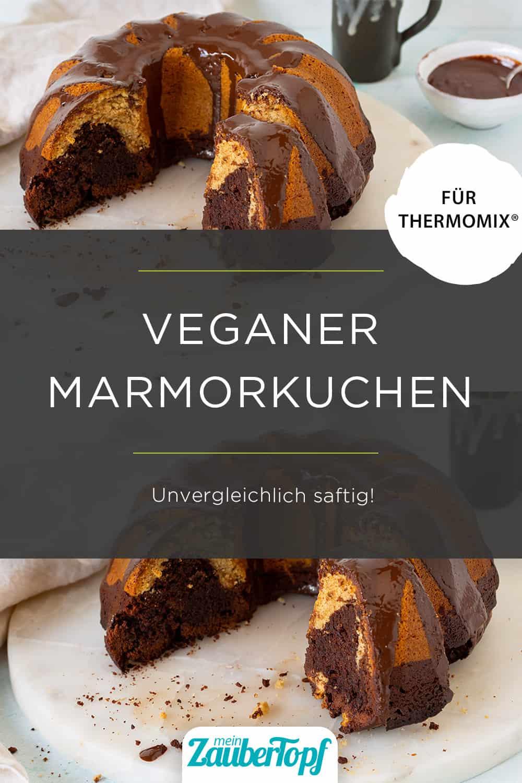 Veganer Marmorkuchen mit dem Thermomix® – Foto: Kathrin Knoll
