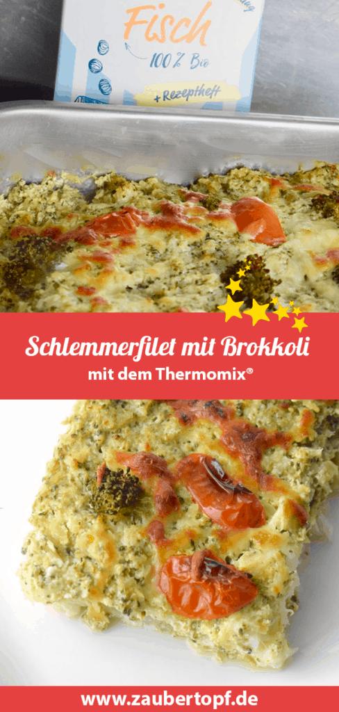 Schlemmerfilet mit Brokkoli – Rezept für den Thermomix® – Foto: Nicole Stroschein