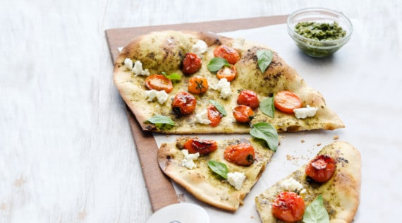 Pestopizza mit dem Thermomix® –Foto: shutterstock