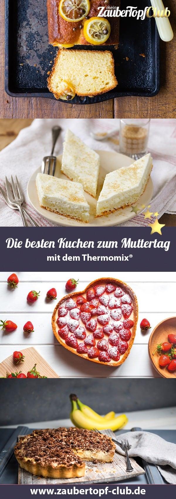 Die besten Kuchen zum Muttertag – Foto: Shutterstock, Mike Hofstetter, Frauke Antholz, Sophia Handschuh