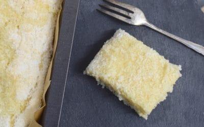 Buttermilch-Kuchen mit Kokos