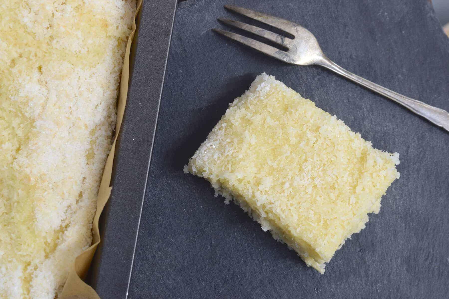 Buttermilch-Kuchen mit Kokos aus dem Thermomix® – Foto: Nicole Stroschein