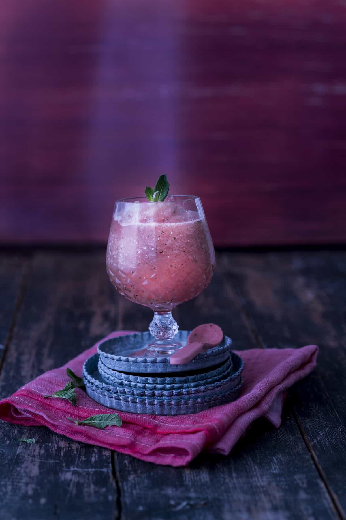 Wine Slush aus dem Thermomix® – Foto: Tina Bumann