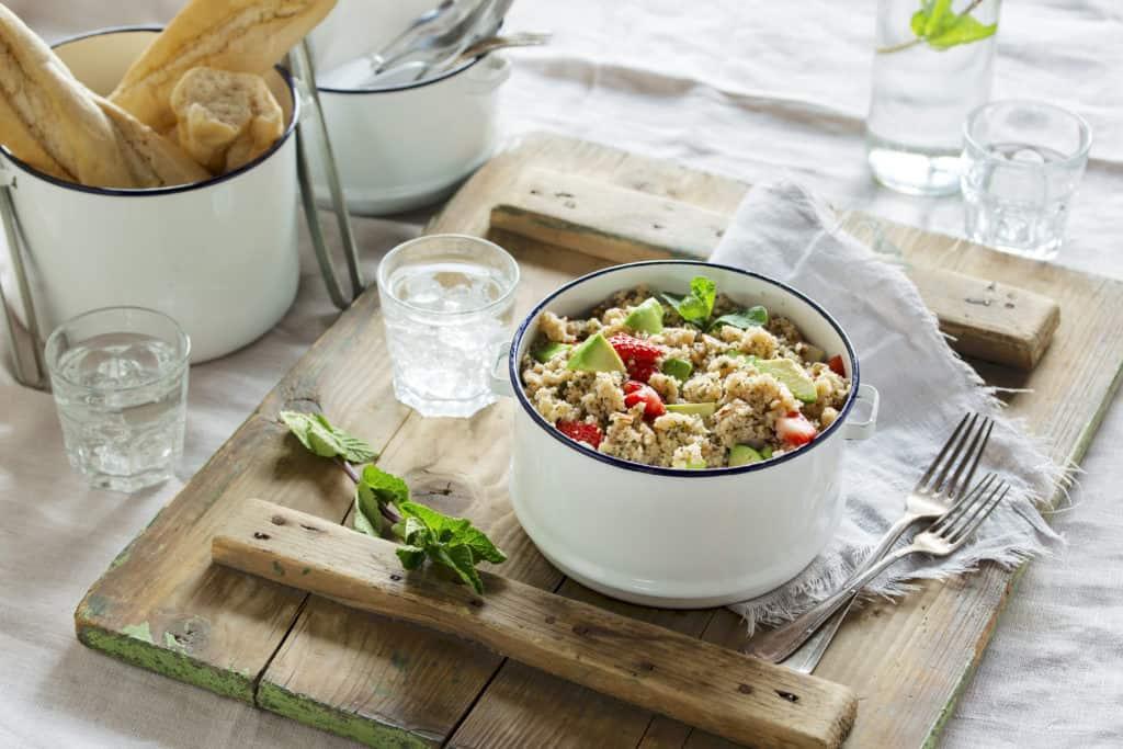 Couscous-Salat mit Erdbeeren aus dem Thermomix® –Foto: Anna Gieseler