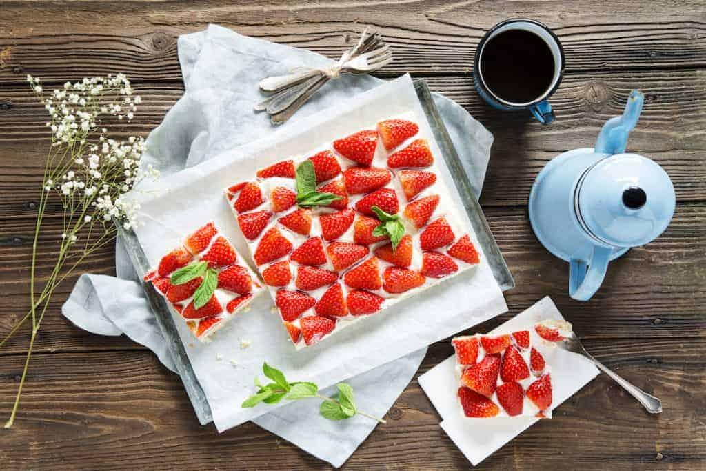 Erdbeer-Schnitte, Rezept für den Thermomix® – Foto: Anna Gieseler