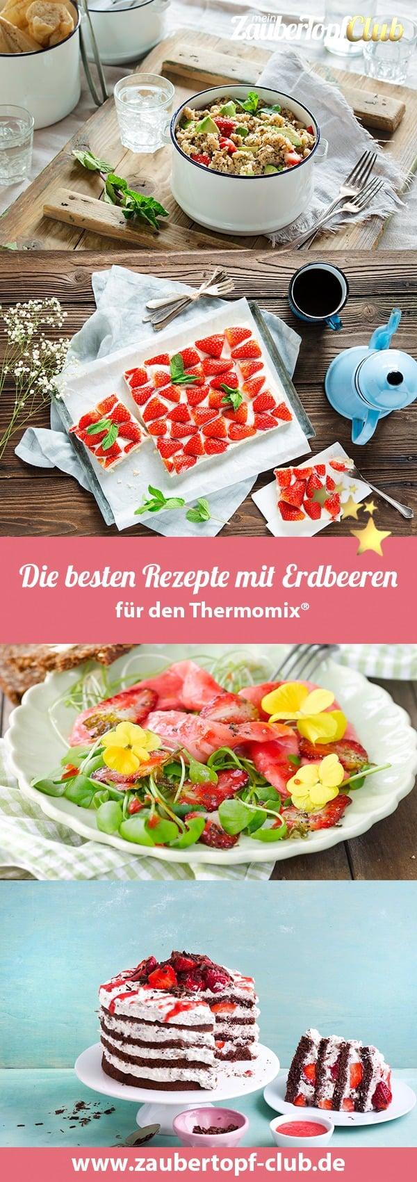 Die besten Rezepte mit Erdbeeren für den Thermomix® – Fotos: Ira Leoni, Frauke Antholz, Anna Gieseler