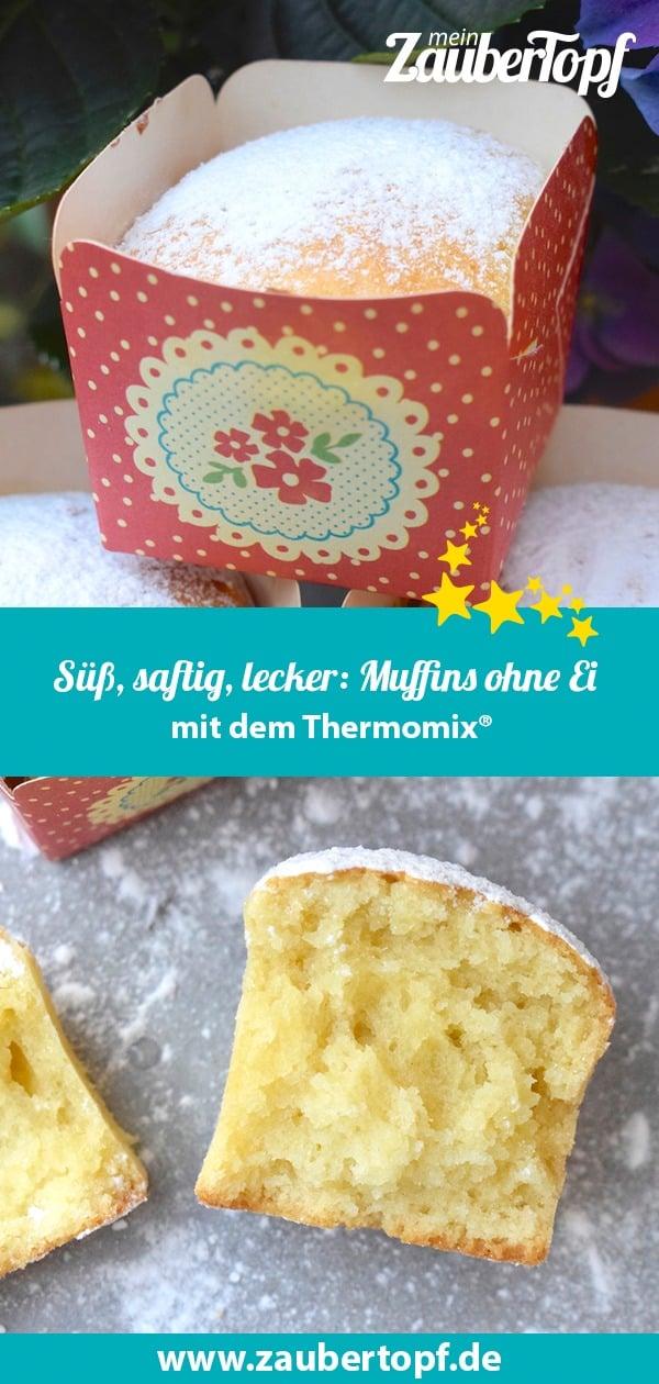 Muffins ohne Ei aus dem Thermomix® – Foto: Nicole Stroschein