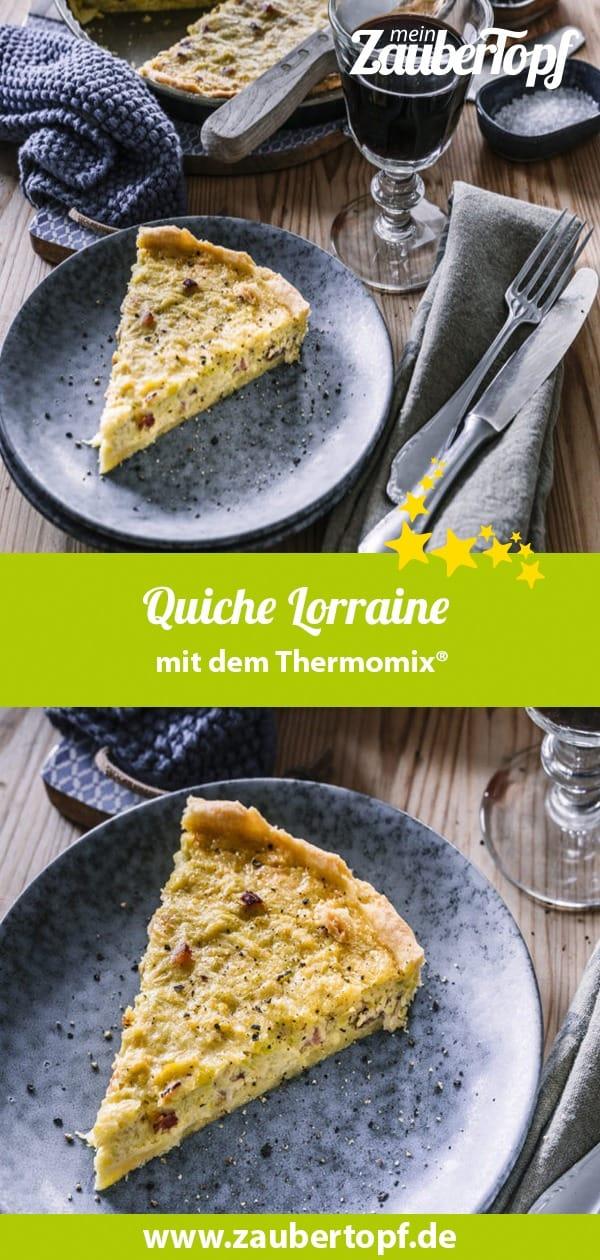 Quiche Lorraine mit dem Thermomix® –Foto: Tina Bumann