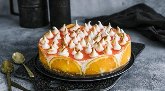 Aperol-Spritz-Torte mit dem Thermomix® – Foto: Tina Bumann