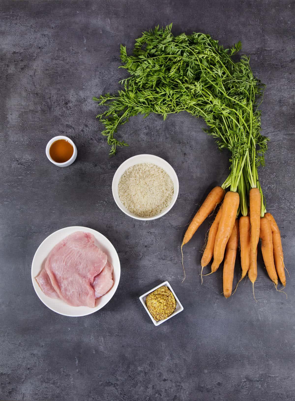 Putenbrust in Honig-Senf-Soße mit Reis mit dem Thermomix® –Foto: Anna Gieseler