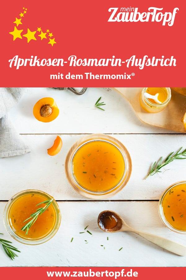 Aprikosen-Konfitüre mit Rosmarin – Foto: Kathrin Knoll