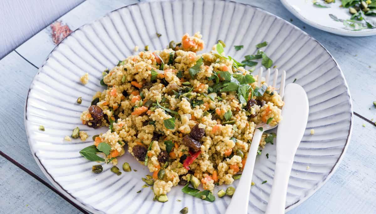 couscous-Salat mit dem Thermomix® – Foto: Tina Bumann