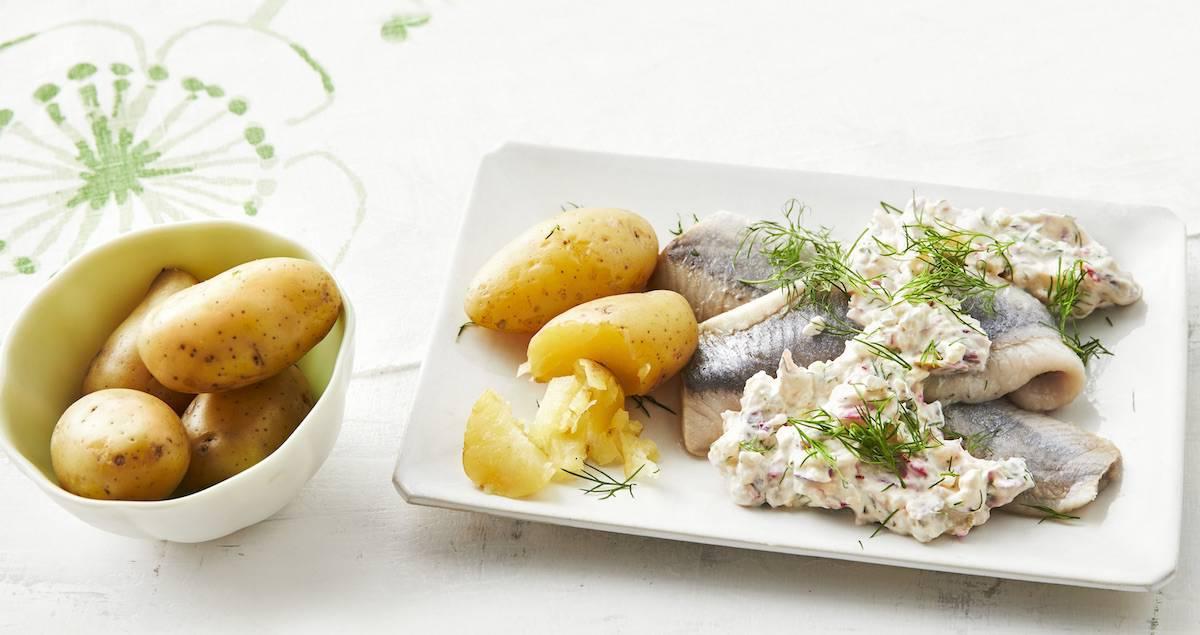 Matjes mit Radieschensalat und Kartoffeln aus dem Thermomix® –Foto: Jorma Gottwald