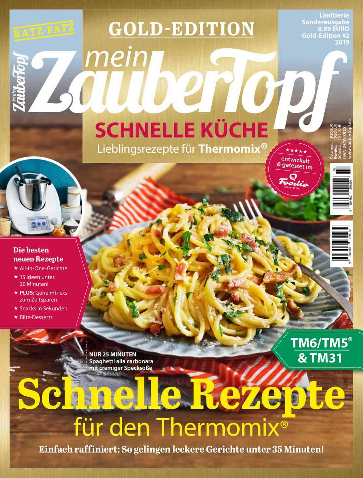 Mein ZauberTopf Gold Edition Schnelle Küche – Foto: Ira Leoni