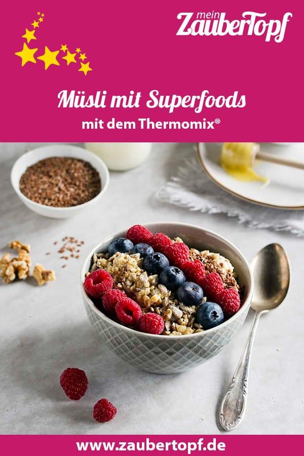 Müsli mit heimischen Superfoods – Foto: Anna Gieseler