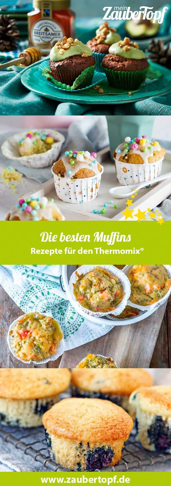 Muffins mit dem Thermomix® – Fotos: Alexandra Panella, Breitsamer Honig, Shutterstock, Tina Bumann