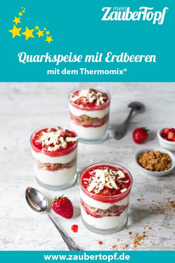 Quarkspeise mit Erdbeeren aus dem Thermomix® –Foto: Katharina Küllmer