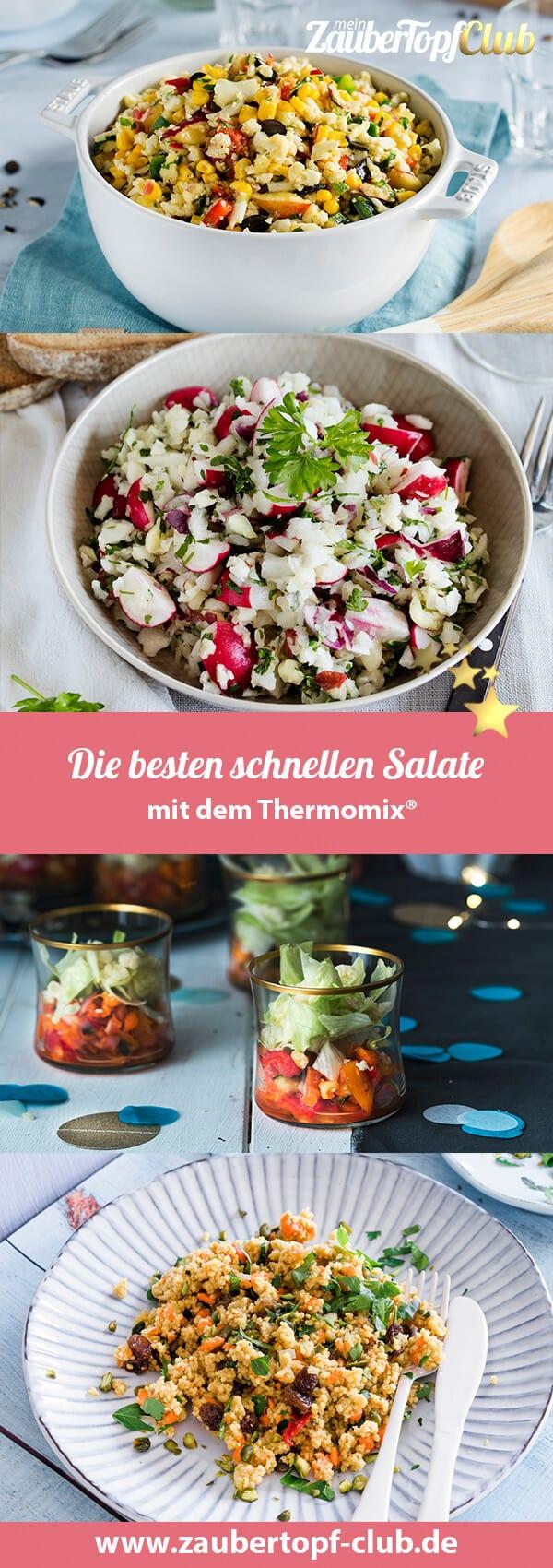 Die besten Salate mit dem Thermomix® – Fotos: Anna Gieseler und Tina Bumann