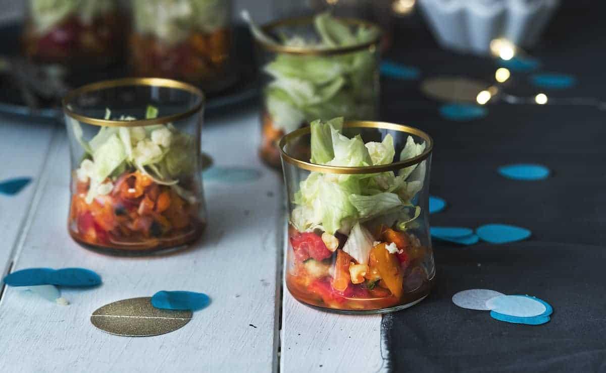 Schichtsalat mit dem Thermomix® – Foto: Tina Bumann