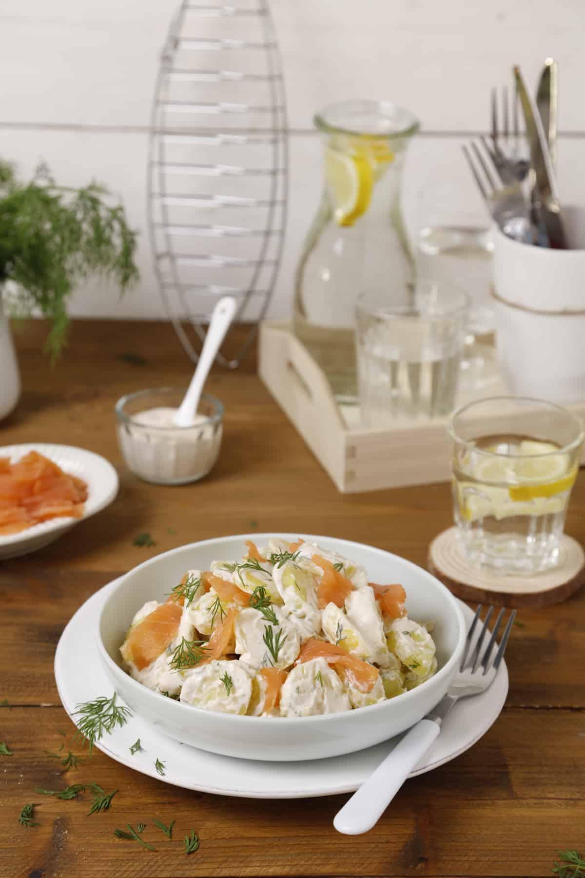 Schwedischer Kartoffelsalat mit dem Thermomix® – Foto: Anna Gieseler