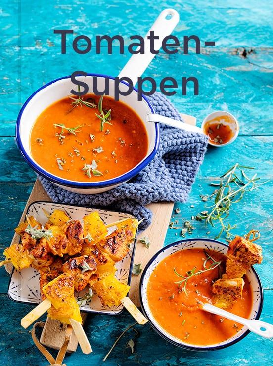 Rezepte für Tomatensuppe, Kollektion mein ZauberTopf-Club –Foto: Frauke Antholz