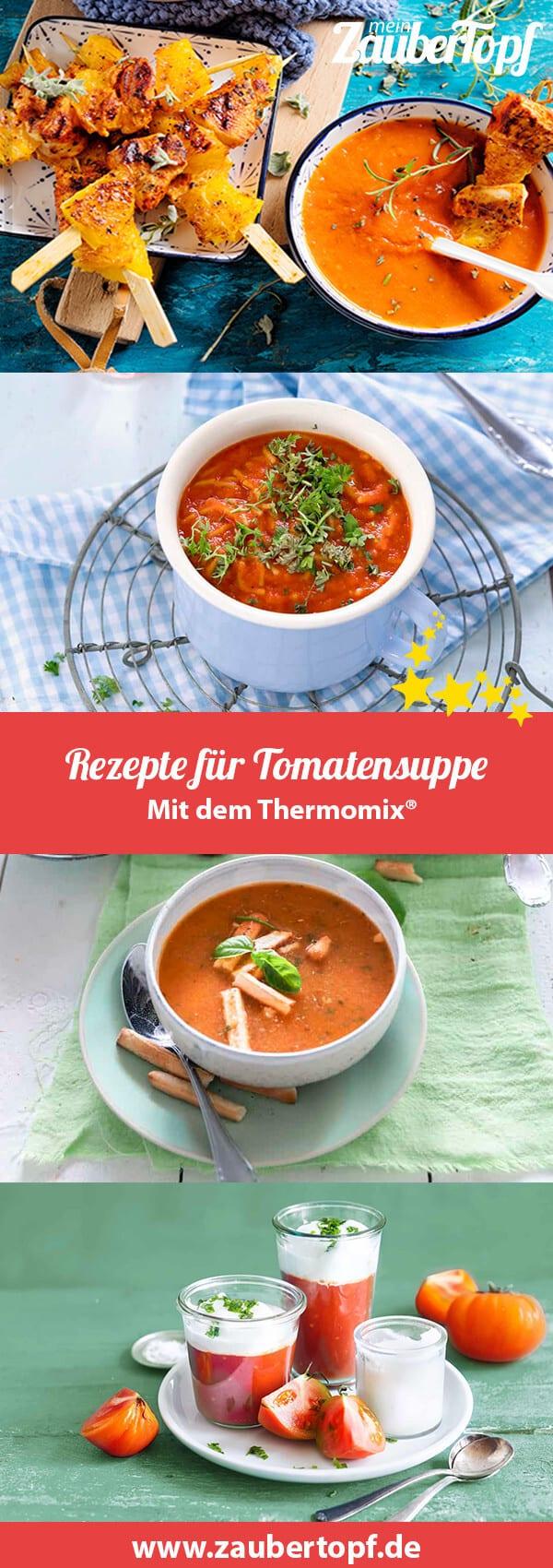 Tomatensuppe mit dem Thermomix® – Foto: Tina Bumann, Frauke Antholz, Ira Leoni
