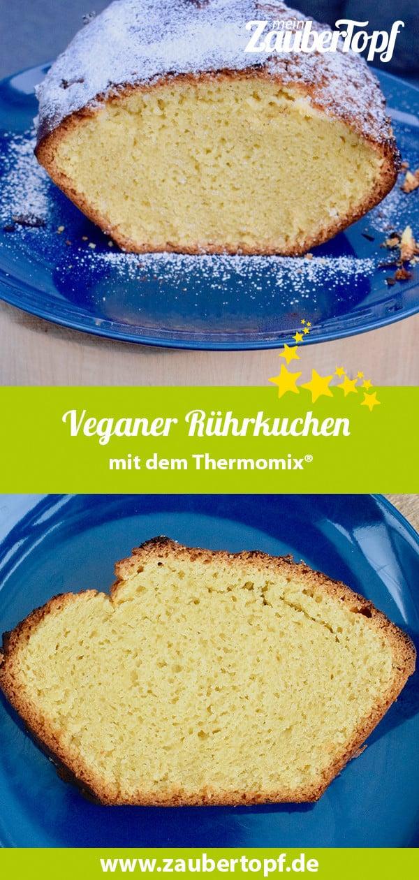 Veganer Rührkuchen mit dem Thermomix® –Foto: Nicole Stroschein