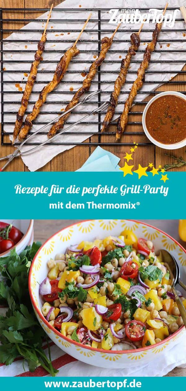 Rezepte für die perfekte Grill-Party mit dem Thermomix® - Foto: Kathrin Knoll / Alexandra Panella