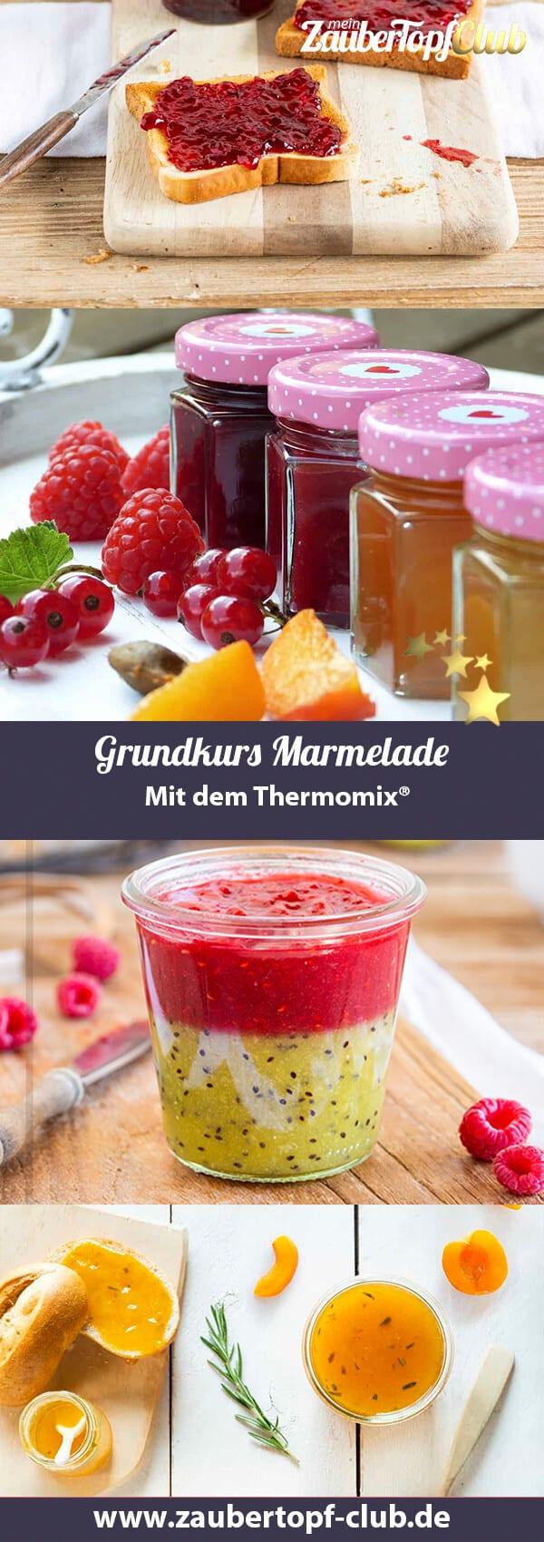 Marmelade aus dem Thermomix® – Fotos: Anna Gieseler, Pixabay