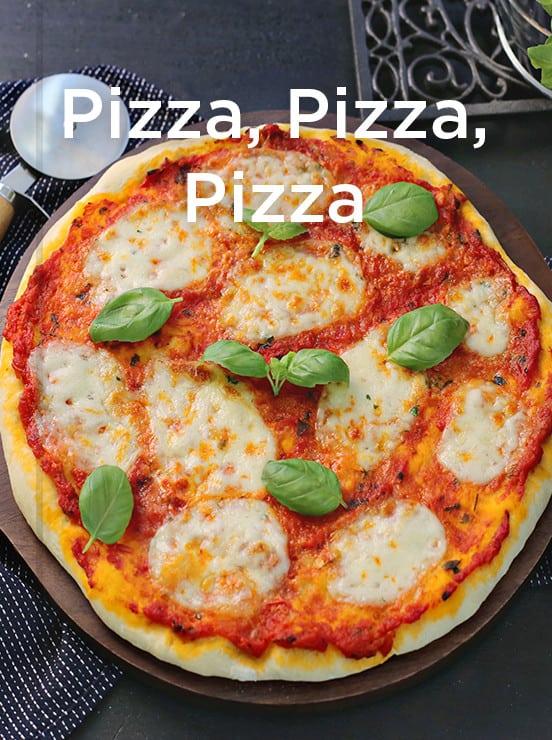 Pizza-Kollektion, mein ZauberTopf-Club – Foto: Alexandra Panella