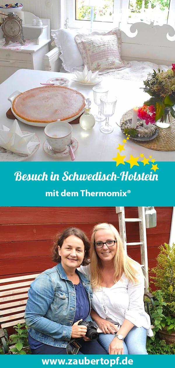 Zu Besuch in Schwedisch-Holstein: Nicole (l.) und Cathi