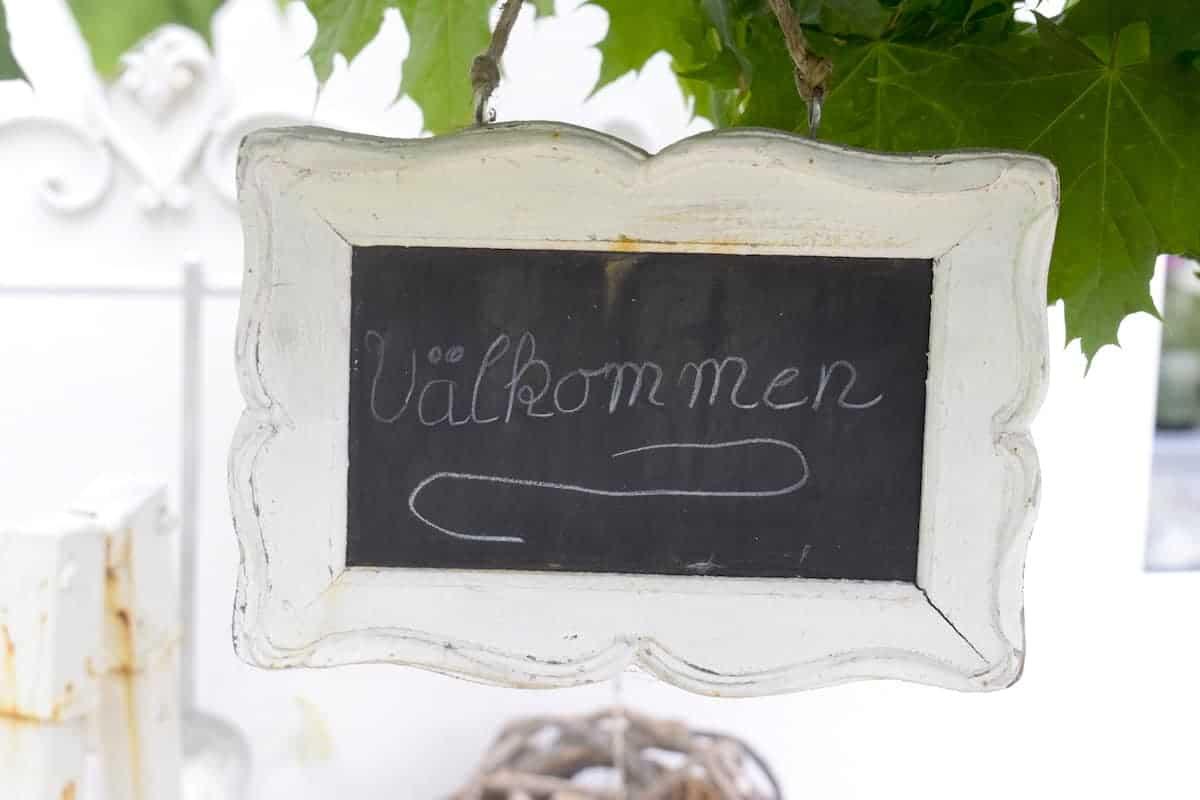 Välkommen in Schwedisch-Holstein – Foto: Nicole Stroschein