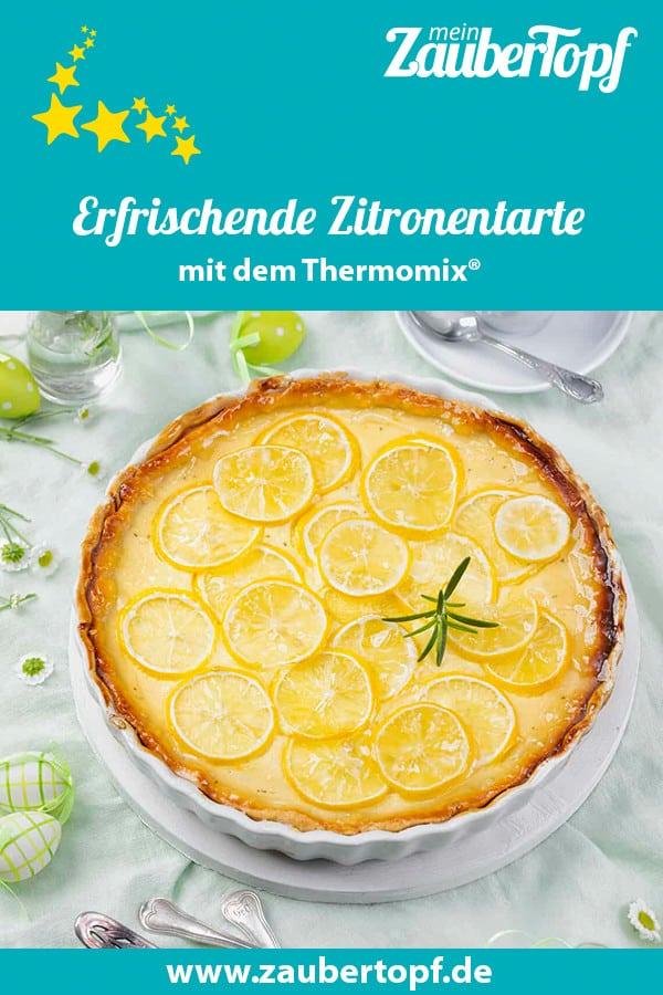 Cremige Zitronentarte mit dem Thermomix® –Foto: Frauke Antholz