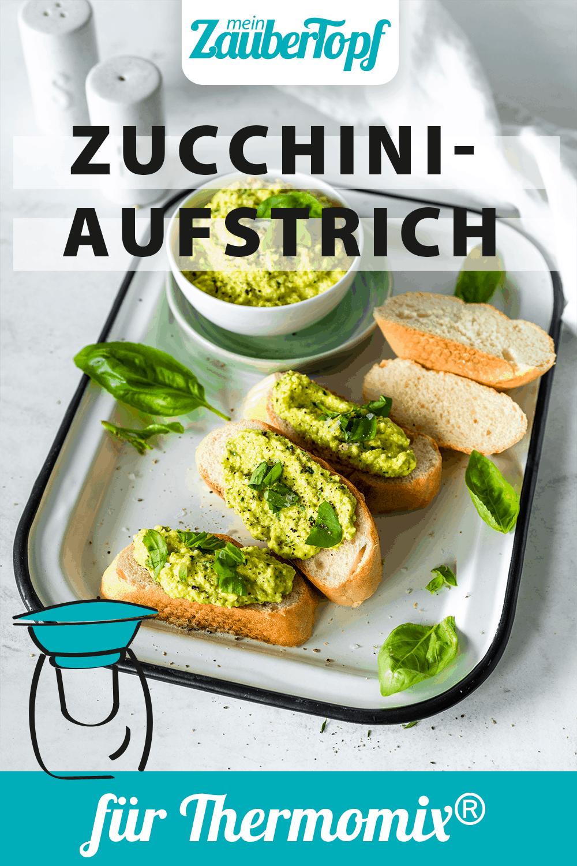 Zucchini-Aufstrich mit dem Thermomix® – Foto: Tina Bumann