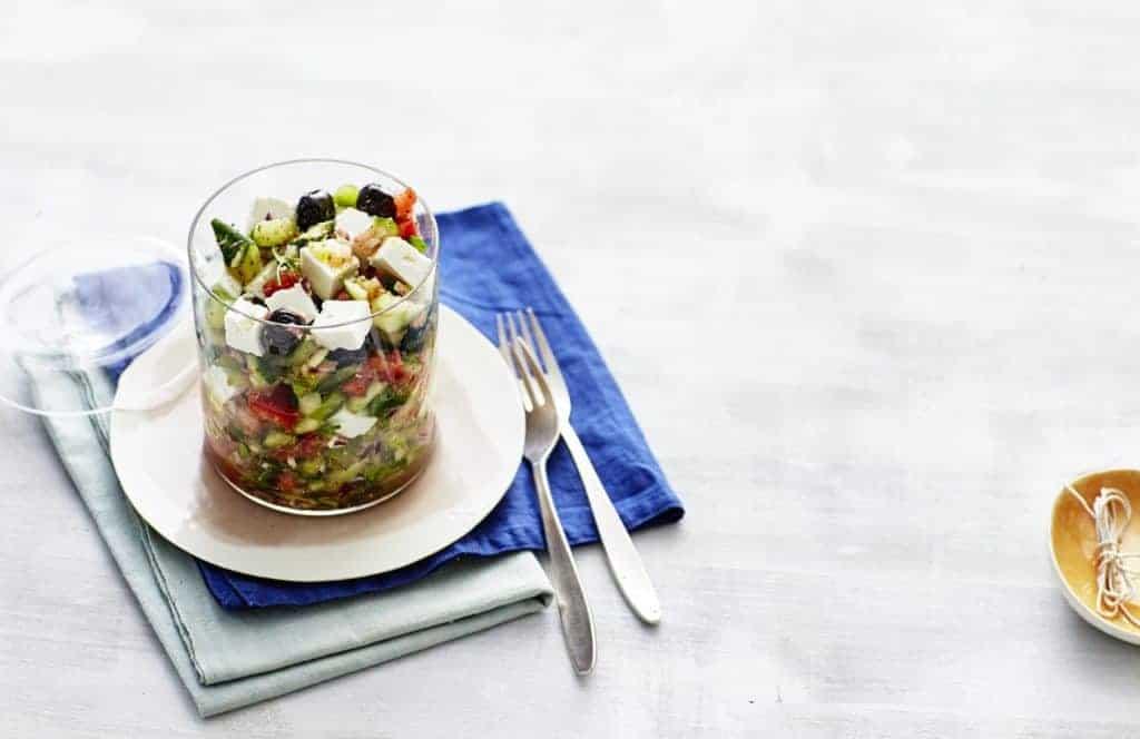 Griechischer Bauernsalat mit dem Thermomix® –Foto: Jorma Gottwald