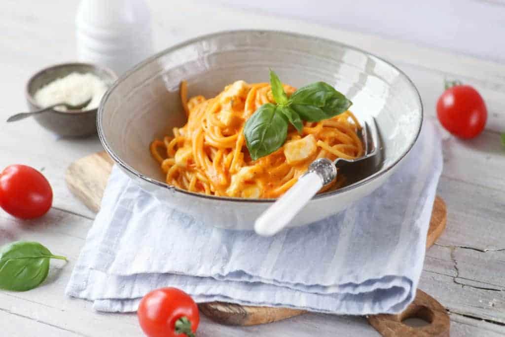 Spaghetti Tomate-Mozzarella aus dem Thermomix® –Foto: Alexandra Panella