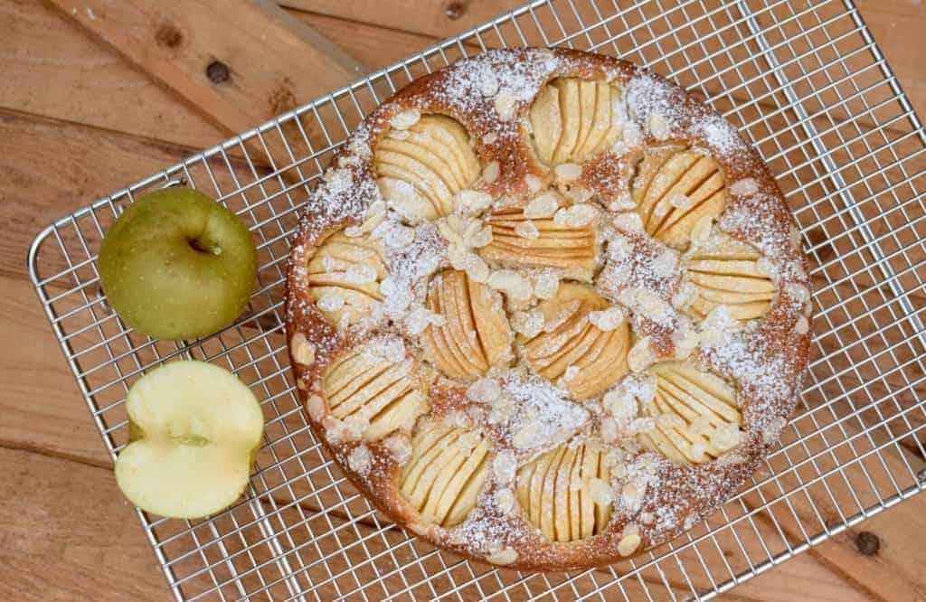 Versunkener Apfelkuchen mit dem Thermomix® –Foto: Nicole Stroschein