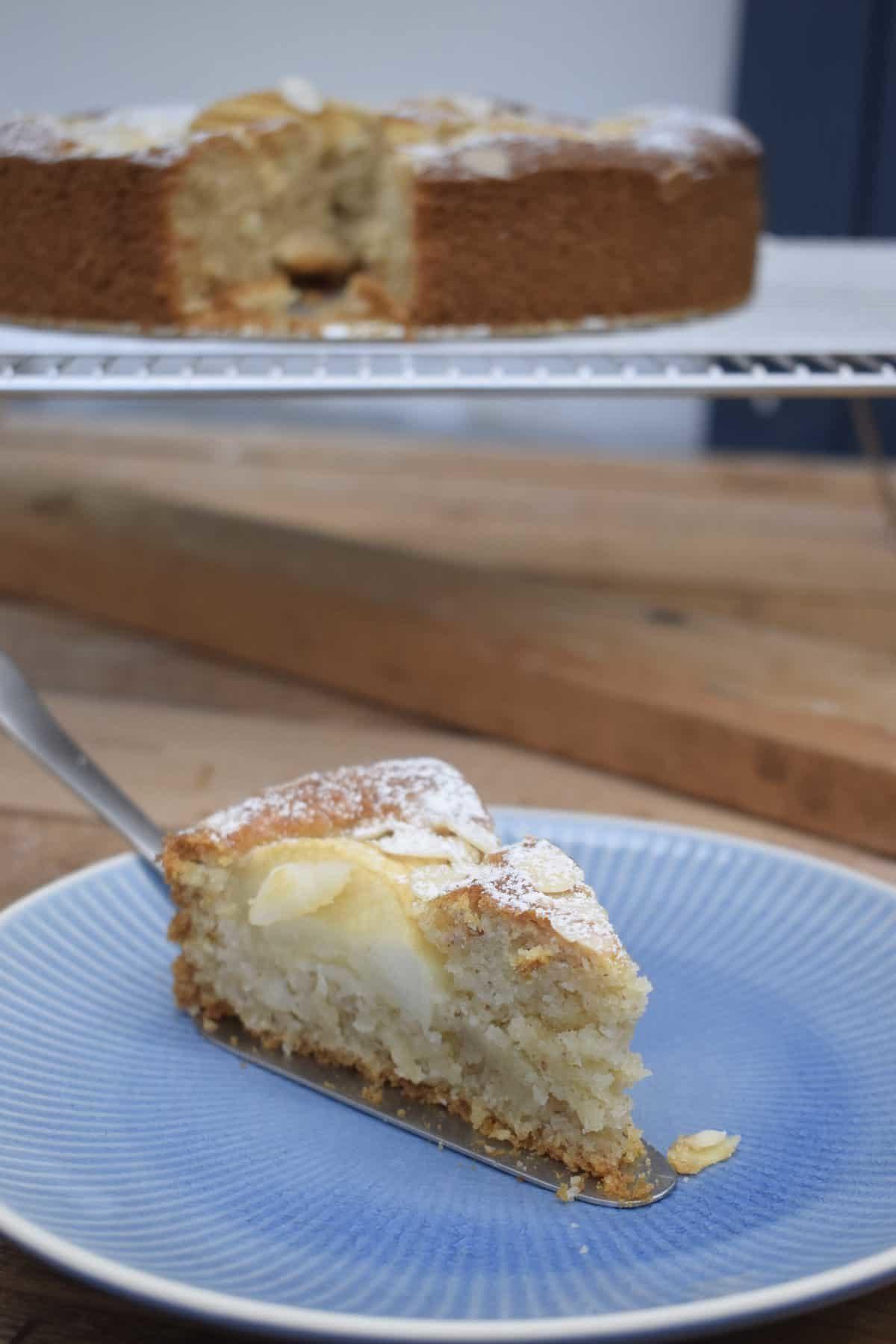 Versunkener Apfelkuchen mit dem Thermomix® – Foto: Nicole Stroschein
