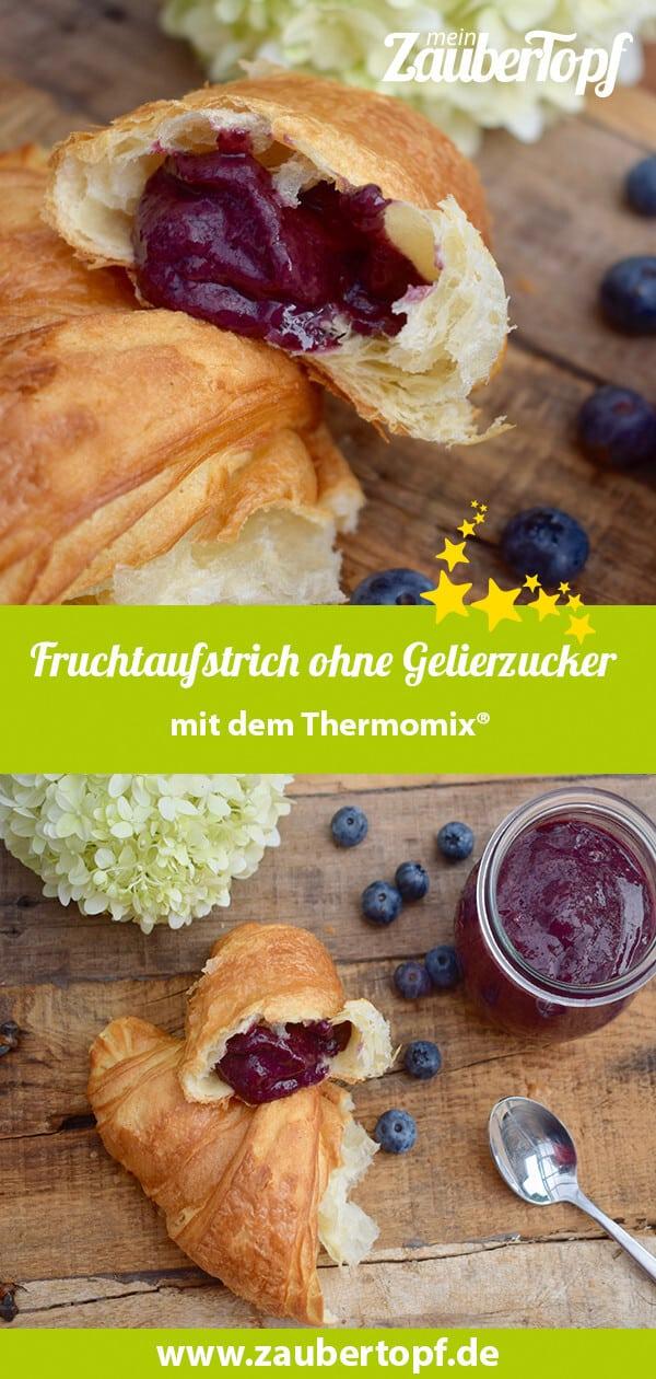 Fruchtaufstrich ohne Gelierzucker aus dem Thermomix® – Foto: Nicole Stroschein