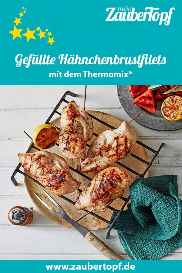 Gefüllte Hähnchenbrustfilets mit dem Thermomix® – Foto: Jorma Gottwald