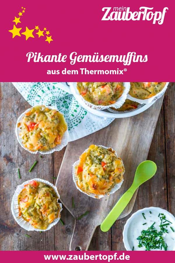 Pikante Gemüsemuffins mit dem Thermomix® –Foto: Tina Bumann