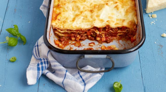 Klassische Lasagne Bolognese mit dem Thermomix® – Foto: Nicky & Max