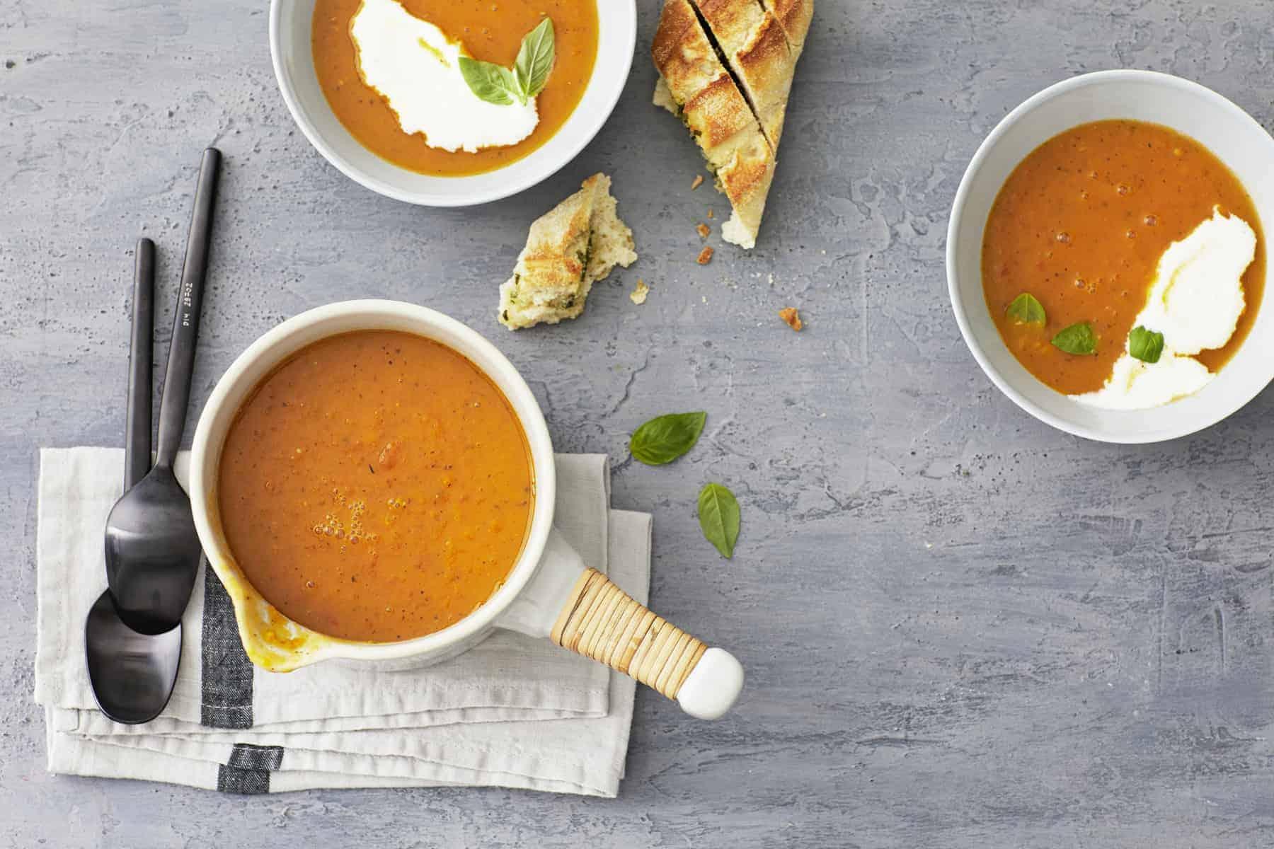 Kürbis-Tomaten-Suppe aus dem Thermomix® –Foto: Jorma Gottwald